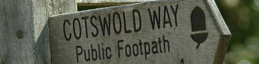 Cotswold Way Finger Post