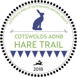 Cotswolds AONB Hare Trail LOGO