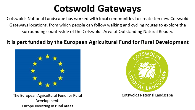 Cotswold Gateways is part funded by the European Agricultural Fund for Rural Development